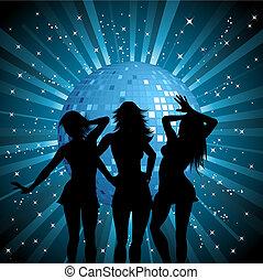 nők, disco