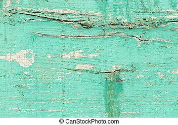 nœuds, closeup, détail, bois, vert, grain