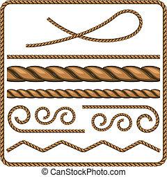 nœuds, cordes