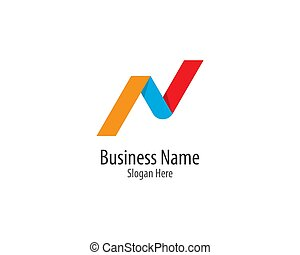 N letter logo vector icon