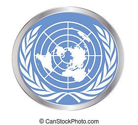 nações unidas, emblema