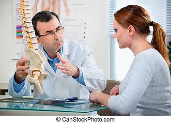 na, przedimek określony przed rzeczownikami, lekarskie biuro