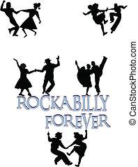 na zawsze, rockabilly