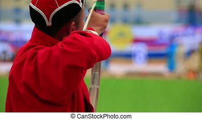 Naadam Festival Archery Tournament