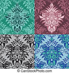 naadloos-patroon-leeuw