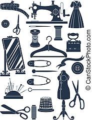 naaiwerk, accessoires