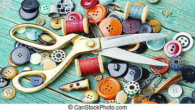 naaiwerk, gereedschap