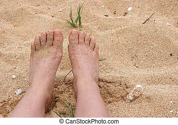 naakte voeten