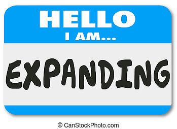 naam, bewustzijnsverruimend, sticker, uitbreiding, verhogen,...