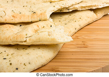 Naan Bread - Indian unlevened bread side dish know nas Naan...