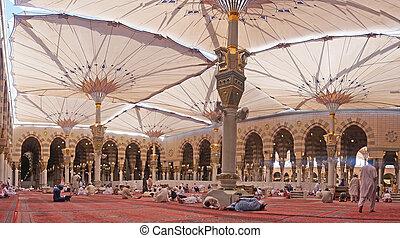 nabawi, meczet