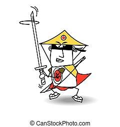 Nabuto the samourai