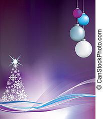 nach, vánoce, grafické pozadí, ilustrace