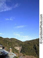 Nachi falls and three story pagoda of Seiganto ji in ...