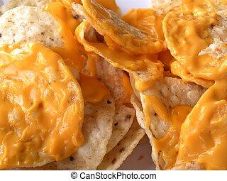 nacho, queso