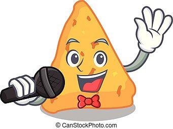 nachos, マスコット, 歌うこと, スタイル, 漫画