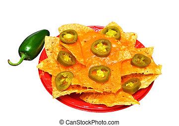 nachos, aislado