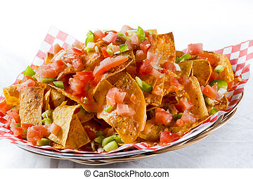 nachos, restaurante