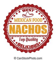 Nachos stamp