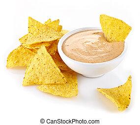 nachos, trempette
