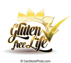 nachricht, gluten, frei