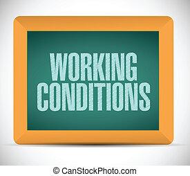 nachricht, krankheit, arbeitende , abbildung, zeichen