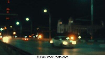 nacht, autobahn, hyperlapse