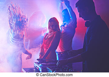 nacht, clubbing