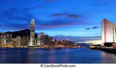 nacht, hongkong