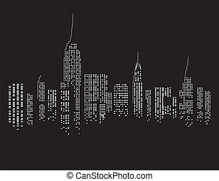 nacht, new york