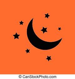 nacht, pictogram