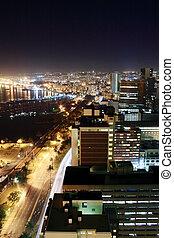 nacht, stad