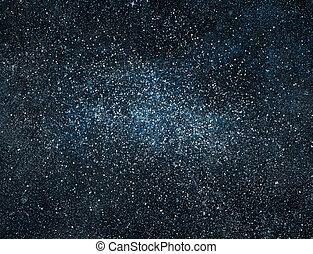 nacht, sternen, hintergrund, himmelsgewölbe
