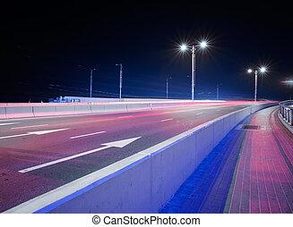 nacht, verkeer