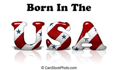 nacido, estados unidos de américa
