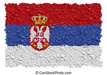 nacional, bandeira serbia