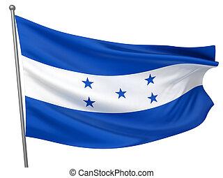 nacional, bandera honduras