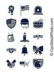 nacional, conjunto, monumento conmemorativo, estilo, icono, ...