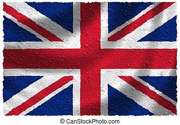 nacional, unidas, kindom, bandeira