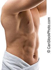 nacked, mannelijke , torso