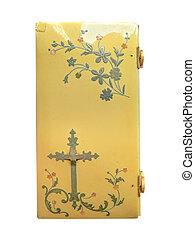Nacre Ornate Bible Book - Top view nacre ornate bible book ...
