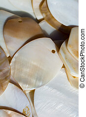 Nacre seashell background texture