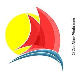 naczynie, logo., nawigacja