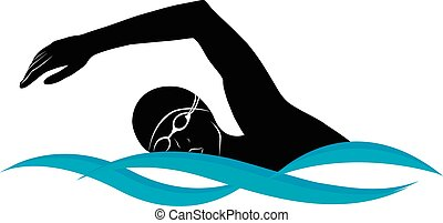 nadador, atleta