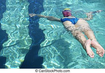 nadador, breaststroke