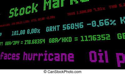 nafta, uderzyć, huragan, na, brzeg, twarze, ceny