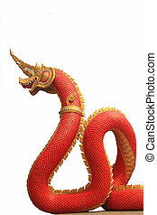 Naga statue of thailand