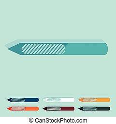 nagel, wohnung, design:, datei