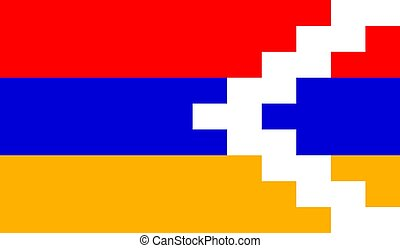 nagorno-karabak, - , εικόνα , σημαία , μικροβιοφορέας , artsakh