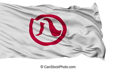 Nagoya Capital City Isolated Flag - Nagoya Capital City...